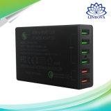 Kanäle USB-Wand-schneller Aufladeeinheits-Energien-Adapter der USB-Aufladeeinheits-Station-schnelle Ladung-6 für iPhone Samsung Xiaomi Fahrwerk