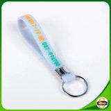 Kein minimaler kundenspezifischer Firmenzeichen-Silikon-Gummi Keychain