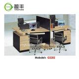 현대 사무용 가구 2 시트 사무실 칸막이실 워크 스테이션 Yf-G2007