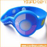 Дешевый Wristband вахты силикона с напечатанным логосом (YB-SW-37)