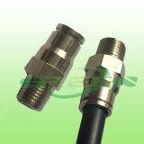 3/8 '' di nichel rapido della serratura di slittamento dell'accoppiamento ha ricoperto una protezione di estremità del foro