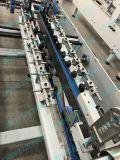 チェン林の折る自動高速PVCペットPPボックス機械(25mmに800mm直線ボックス)をカスタマイズされたホールダーのgluerつける