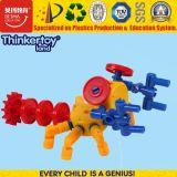 Netter Form-Entwurfs-pädagogisches Roboter-Puzzlespiel-Plastikspielzeug