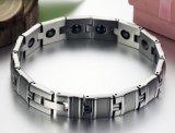 De Juwelen die van mensen het Magnetische Ontwerp van Speical van de Armbanden van het Titanium van de Armband van de Gezondheid van het Saldo van de Armband Zilveren voor Mensen helen