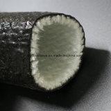 Umsponnene silikonumhüllte Fiberglas-Rohrleitung