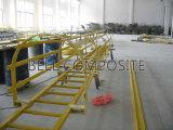 Sistema de barandilla Gfrp, Cable de fibra de vidrio escaleras Glassfiber jaula FRP escaleras.
