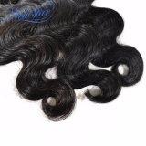 Estensione peruviana dei capelli umani del Virgin dell'onda del corpo di trasporto libero