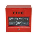 緊急の壊れ目ガラス呼出しポイント火災報知器