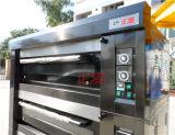 45L 빵 굽기 케이크 피자 증기 Lahmacun 장비 Manakish 기계 오븐은 굽는다 기계 가스 12L (ZMC-306M)를