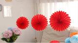 30cm de panal de miel de papel Flores de boda abanicos suministros de decoraciones de fiesta de cumpleaños
