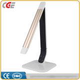 Luz Foldable de venda quente do livro da lâmpada do brilho de alumínio dos níveis da luz 5 da tabela da mesa do diodo emissor de luz do painel