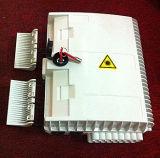 China exterior impermeable IP65 16 núcleos FTTH Caja de distribución de la Terminación de fibra óptica