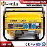 générateur d'essence de 1.5kw 168f pour l'usage à la maison