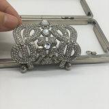 Bâti épatant de fer de tête chaude de Rhinestone pour la caisse cosmétique de sac de main de sac de soirée