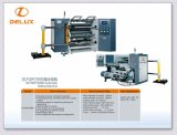 Máquina de corte automático de alta velocidad con bobinador & rebobinador (DLFQW-1300D)