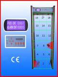 Metalldetektor, Weg durch Metalldetektor, Tür-Metalldetektor, Gatter-Metalldetektor (Zonen JLS-8018, 18detection)