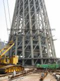 高度の構築デザインタワーの構築の鉄骨構造フレーム