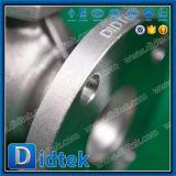 Vávula de bola asentada metal de acero inoxidable de Didtek CF8m