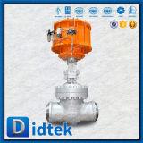 Valvola a saracinesca pneumatica della flangia del fornitore professionista della valvola di Didtek Cina