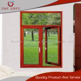 Alluminio moderno di stile di alta qualità/finestra di vetro della stoffa per tendine con il disegno dell'arco