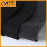 Черная джинсовая ткань Slub Spandex полиэфира хлопка цвета в Weave сатинировки