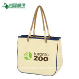 Commerce de gros de l'économie de haute qualité personnalisés remorqueur de sacs en toile de coton durable