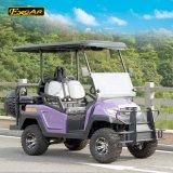 Carrello di golf elettrico del carrello della Cina 4 Seater con il pneumatico di ricambio