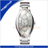 Horloge het Van uitstekende kwaliteit van de Kleding van het Polshorloge van het Kwarts van dames