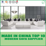 Hotel-Möbel-modernes ledernes Sofa-geschnittenbett