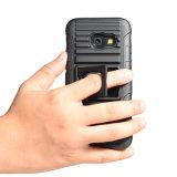 Vente en gros 3 dans 1 caisse combinée de téléphone d'étui du PC TPU pour le cas 2017 de Samsung A3 Kickstand