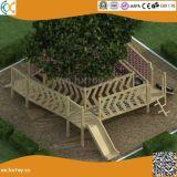 La maternelle Outdoor Adventure Aire de jeux en bois