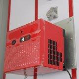 Het Schilderen van het Systeem van de ventilatie en van de Nevel van het Verwarmingssysteem Cabine