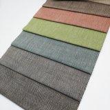 Sofá de lino tejido de la materia textil del sofá del poliester que se reúne la tela de tapicería