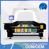 Автомат для резки лазера CNC СО2 ткани крена высокоскоростной
