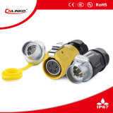 Aplicación de la potencia de Cnlinko IP67 5pin para el conector impermeable del LED Scree