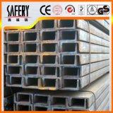 Het vrije Kanaal van U van Roestvrij staal 201 304 van de Steekproef Warmgewalste