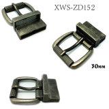 Qualitäts-Metallzink-Legierungs-Rollen-Faltenbildungpin-Gürtelschnalle für Kleid schnallt Kleid-Schuh-Handtaschen um (XWS-ZD152)
