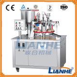 クリーム色の軟膏のプラスチック適用範囲が広い管のシーリング機械