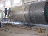 Linea di produzione del serbatoio di FRP GRP macchina di bobina del filamento dell'imbarcazione di Spetic