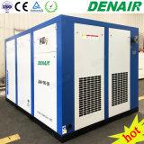 18-40 compresseur d'air à vis rotatoire à haute pression à deux étages lubrifié par barre