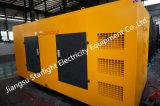 440квт/550ква бесшумный дизельный электрический генератор установлен горячим продажи с двигателями Perkins