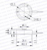 Cella di caricamento della forza di compressione dell'acciaio inossidabile (BR098)
