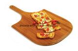 Tarjeta de corte redonda de la pizza/bandeja de la tajadera/de la porción