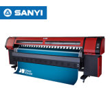 Impresora solvente de la bandera de la inyección de tinta ancha del formato