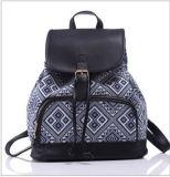Пакет печатание новых девушок Bolsas Mochila Backpacks холстины женщин геометрический (WDL0944)