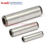 小型、1端によって叩かれる合せ釘ピンISO 8733 DIN8733