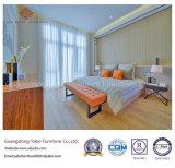 Померанцовая мебель спальни гостиницы цвета с чувствительной конструкцией (YB-S-11)