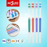 Massenwegwerfqualitäts-preiswerte kundenspezifische Firmenzeichen-Erwachsen-Zahnbürste