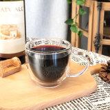 Copo de Vidro Basculante de dupla parede caneca para beber chá, cerveja, vinho
