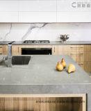 Un sol en pierre de quartz blanc artificiel de carreaux de quartz